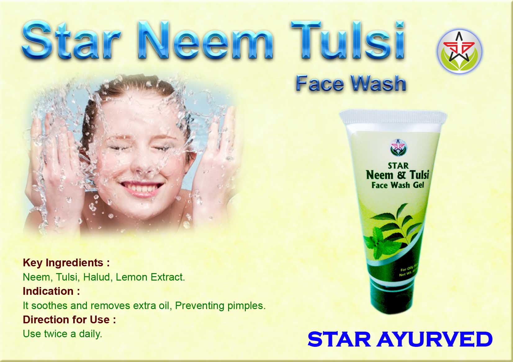 Neem Tulshi Face Wash